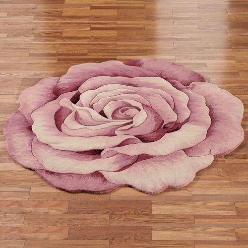 Roselinn Round Rug Rose
