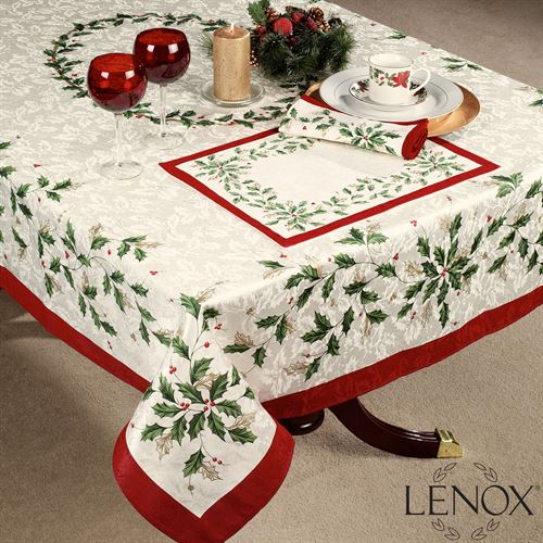 Lenox Holiday Oblong Tablecloth