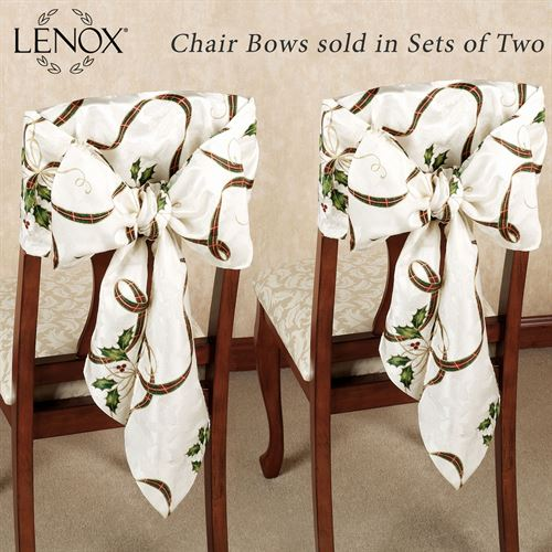 Holiday Nouveau Chair Bow