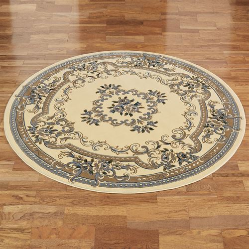 Imperial Aubusson II Round Rug 77 Round