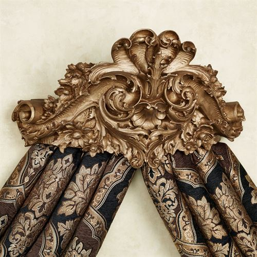 Alexandrine Wall Teester Bed Crown Aged Gold