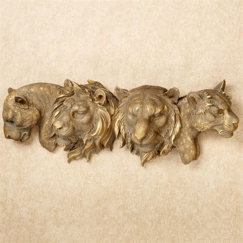 Natures Tapestry Wall Art Antique Gold