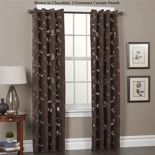 Laura Grommet Curtain Panel