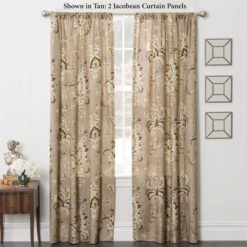 Zara Tailored Curtain Panel