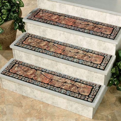 Tuscany II Stair Treads Moss 35 x 9