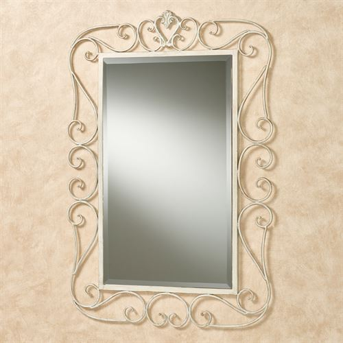 Aldabella Wall Mirror Creamy Gold