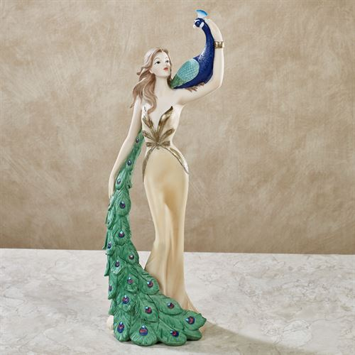 Stunning Beauty Lady Figurine Multi Cool