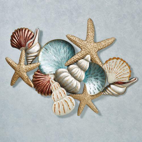 Ocean Collage Metal Wall Art