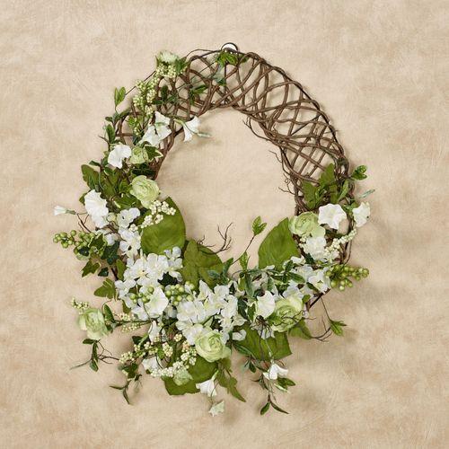 Floral Jubilee Oval Wreath Multi Cool