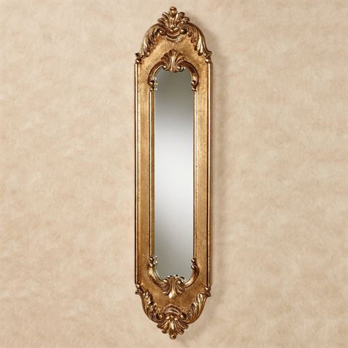Maddalena Wall Mirror Panel Gold