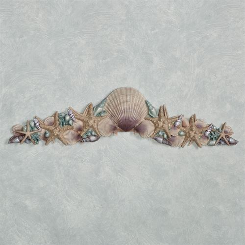 At the Beach Decorative Topper Blue