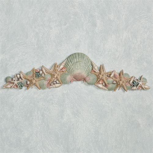 At the Beach Decorative Topper Natural