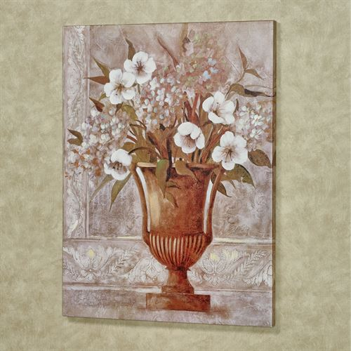 Floral Reflections I Canvas Wall Art Multi Cool
