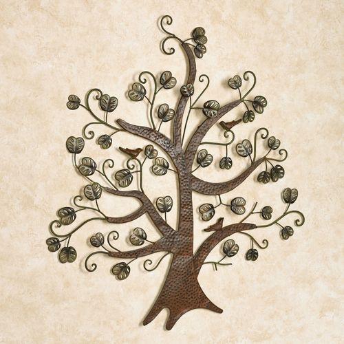 Breezy Tree Wall Art Dark Brown