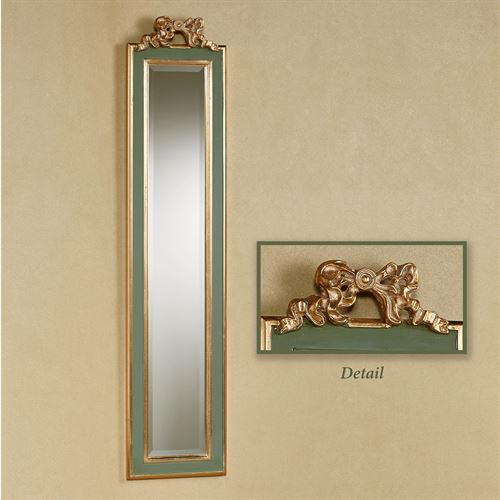Seraphina Wall Mirror Panel Sage