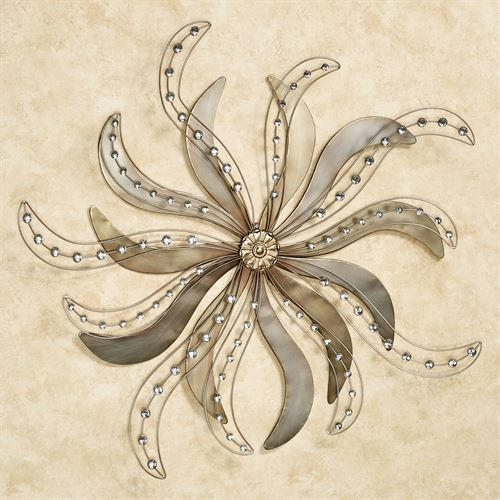 L Essence Metal Wall Art Platinum