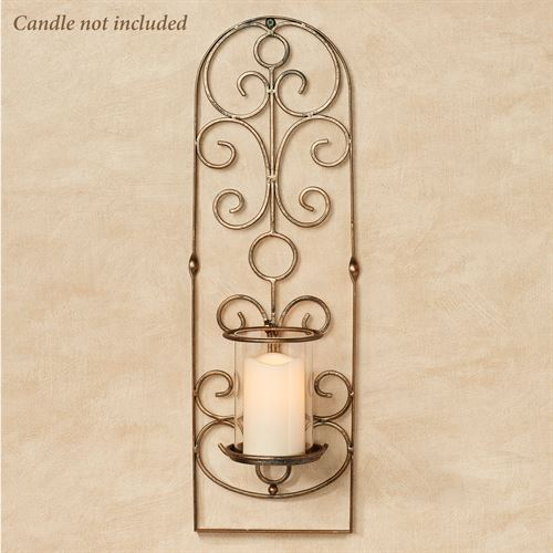 Milburn Wall Sconce Aged Gold
