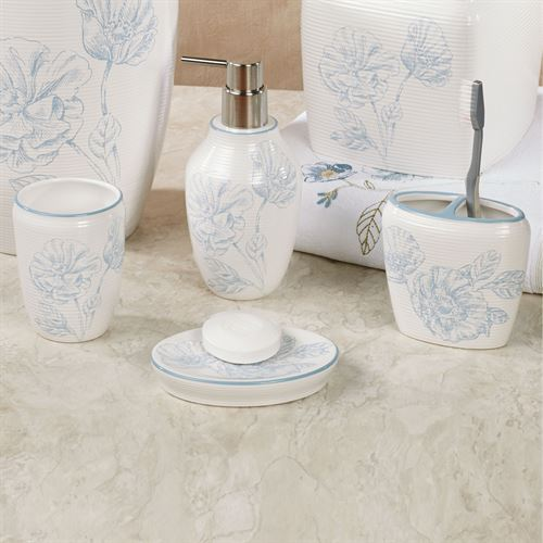 Exceptionnel Garden Melody Floral Bath Accessories. Garden Melody Lotion Soap Dispenser  Ivory