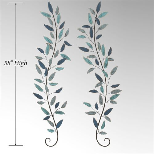 Granby Wall Accents Blue Set of Two