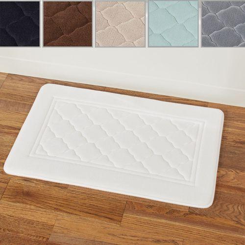 Microban Memory Foam Bath Mat 32 x 20
