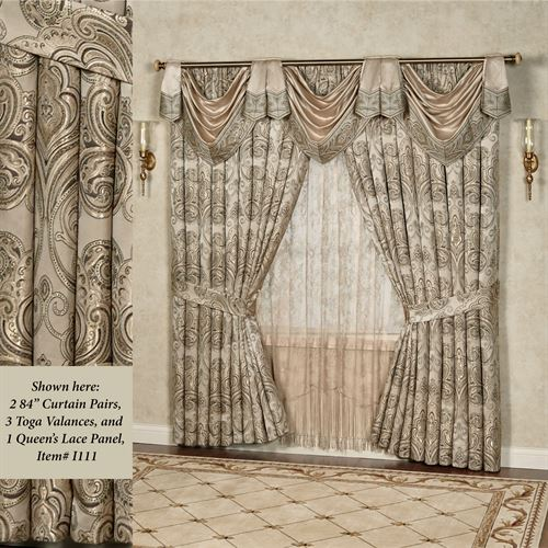 buy croscill sage manolo valances treatments bath from in bed beyond window valance