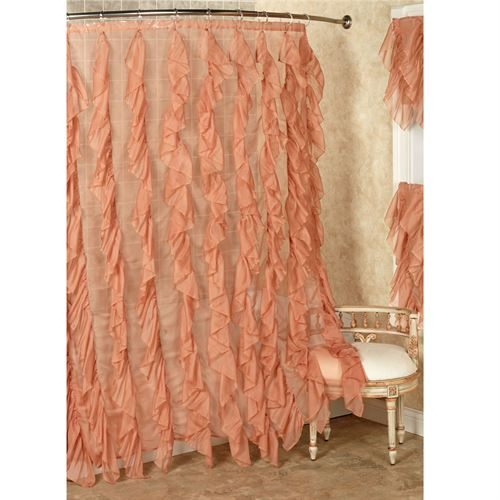 Cascade Voile Shower Curtain 70 x 72