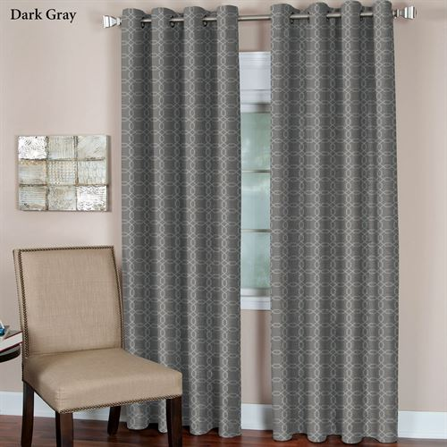 Faye Grommet Curtain Panel