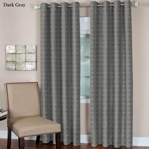 Faye Grommet Curtain Panel
