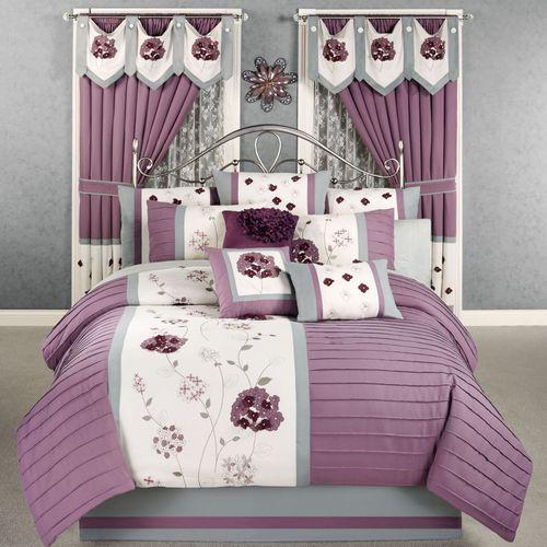 Harmony Comforter Set Orchid