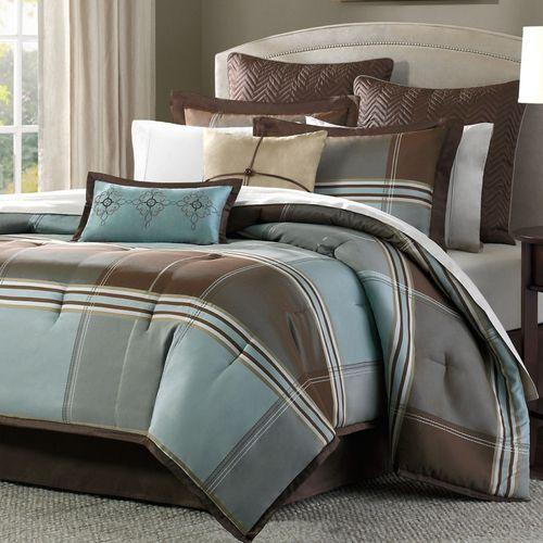 Davenport Bed Set Light Blue