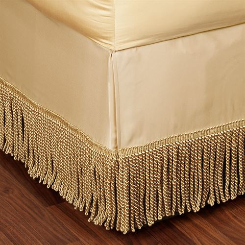 Opulence Fringed Tailored Bedskirt
