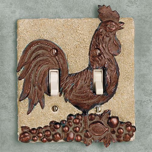 Rooster Harvest Double Switch Copper
