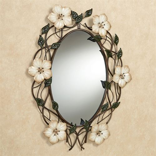 Magnolia Wall Mirror Multi Earth