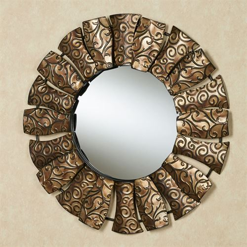 Owen Wall Mirror Brown