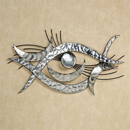 Jayce Wall Sculpture Silver
