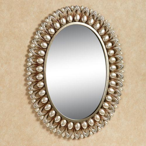 Julietta Wall Mirror Champagne Gold
