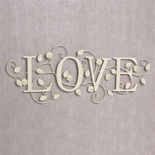 Metal Love Wall Art