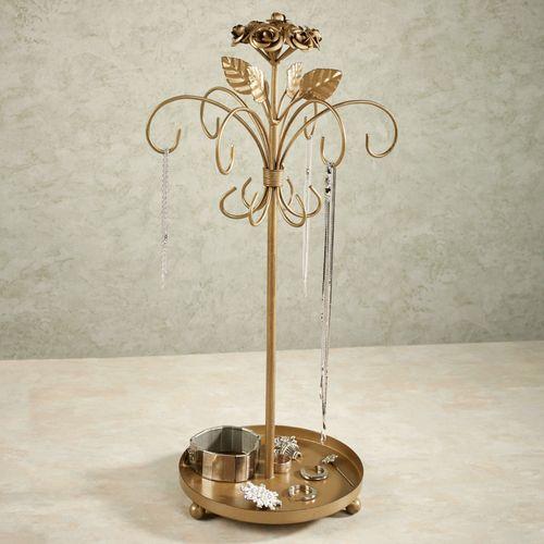 Rosabella Jewelry Holder Tarnished Gold