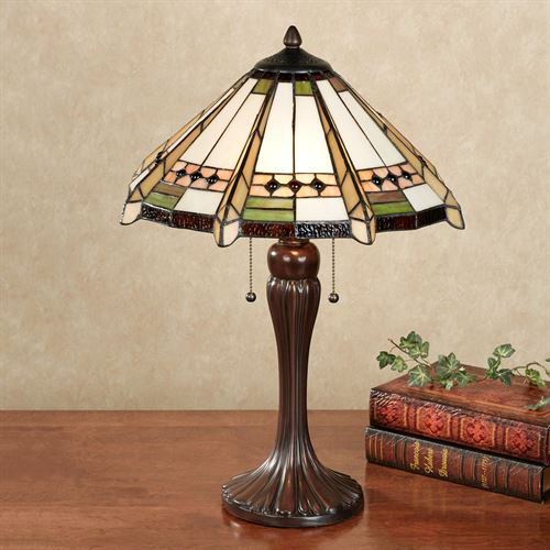 Wendelle Stained Glass Table Lamp