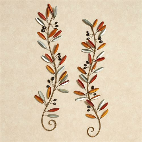 Tuscan Medley Wall Art Set Multi Warm Set of Two