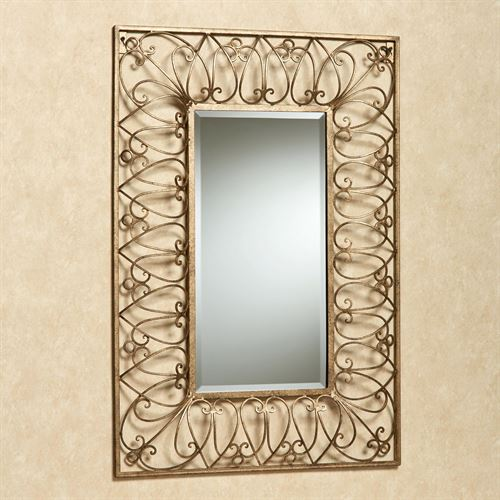 Eliana Wall Mirror Antique Gold