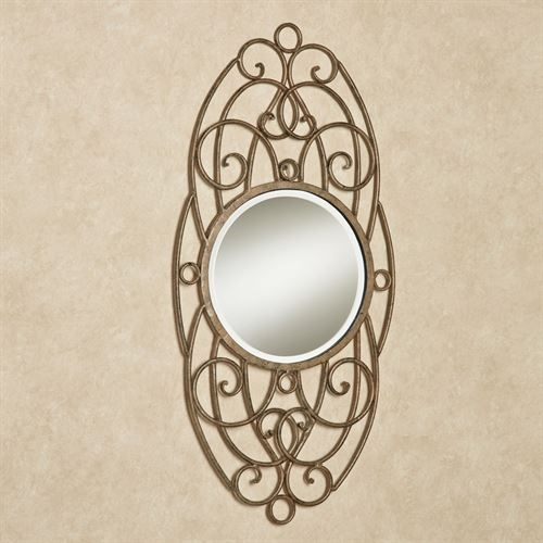 Ianira Wall Mirror Antique Gold