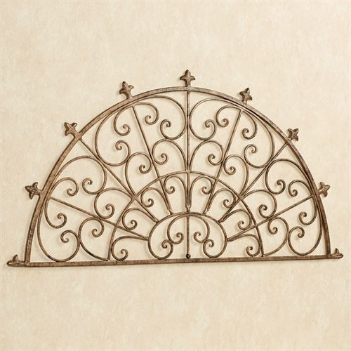 Lidania Wall Grille Antique Gold
