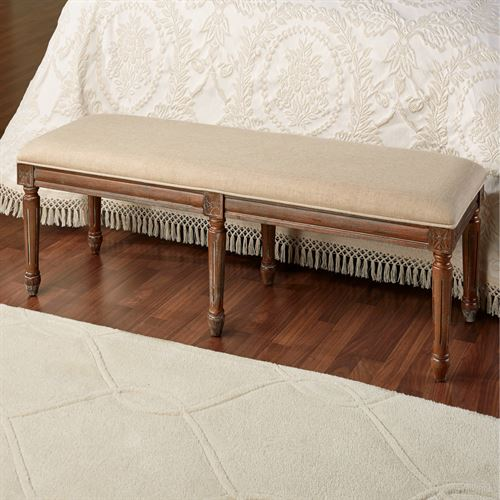 Margret Bed Bench Natural Cherry