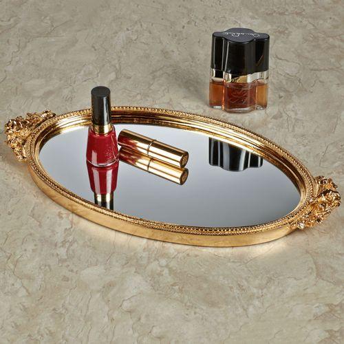Corliss Vanity Tray Gold