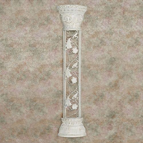 Column Estates Metal Wall Art Ivory
