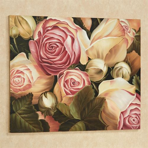 Rose Garden II Canvas Art