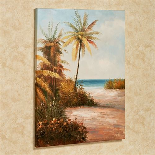 Hidden Paradise II Canvas Art Multi Cool