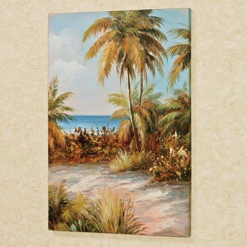 Hidden Paradise I Canvas Art Multi Cool