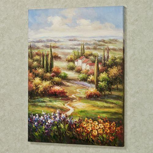Tuscan Retreat Canvas Art Multi Warm